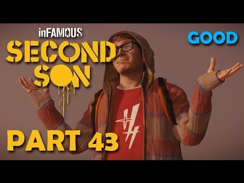 inFamous: Second Son Good Playthrough Part 43: Big DUP Battle with Eugene!