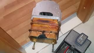 Gaz34.ru Почему не горит фитиль на газовой колонке Bosch.