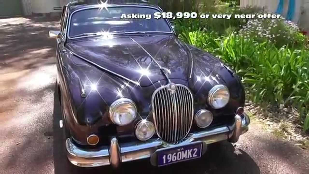 1960 Jaguar Mk2 for sale in Perth - YouTube