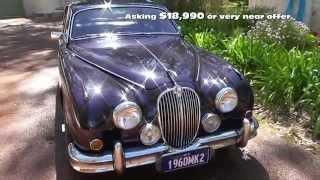 1960 Jaguar Mk2 for sale in Perth