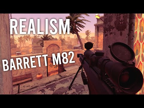 INSURGENCY SANDSTORM - BARRETT M82 .50 CAL Gameplay! (BRUTAL REALISM/NO COMMENTARY/NO HUD/4K/ISMC) |
