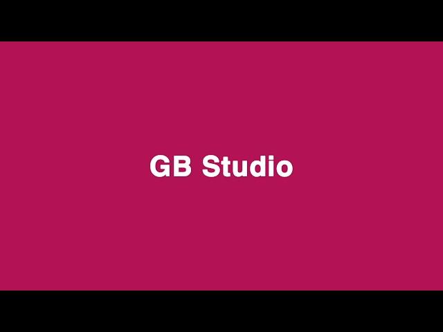 GB Studioのイメージ