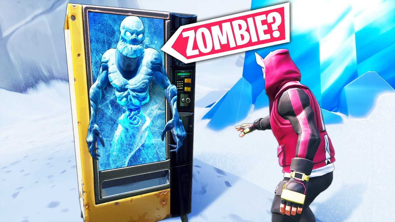 *NEW* ZOMBIE VENDING MACHINE!! - Fortnite Funny WTF Fails and Daily Best Moments Ep.884