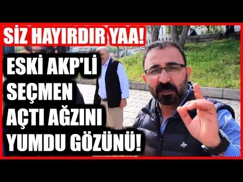 HAYIRDIR YA MEMLEKETİ SOYDUNUZ! AKP'nin Kalesinde Seçim Röportajı! İstanbul