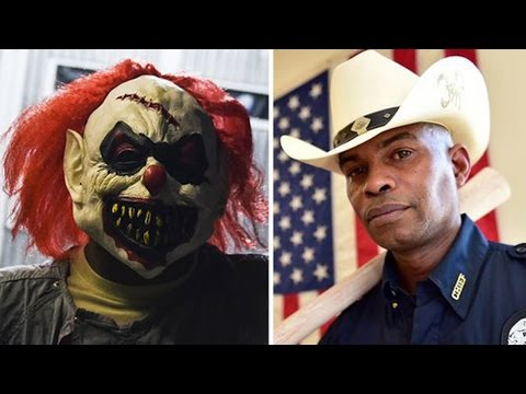 Police Chief To Creepy Clown: Stop It!