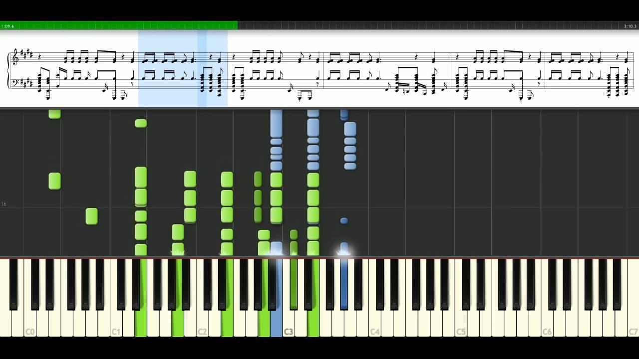 Michael Jackson - Black or white (version 2) [Piano