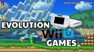 Evolution of Wii U Games 2012-2018