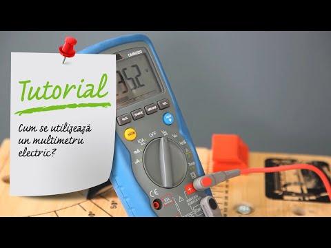 Cum Se Utilizeaza Un Multimetru Electric Ghid Video Leroy