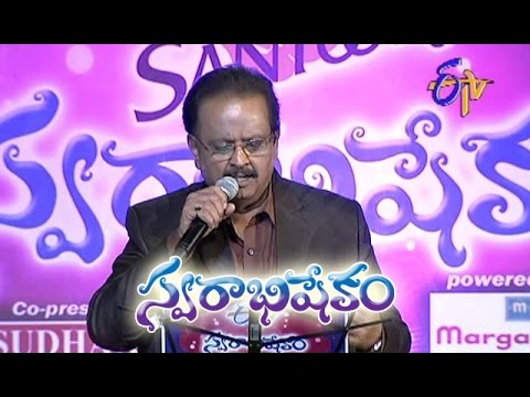 Adivo Alladivo Song - SP Performance in ETV Swarabhishekam - Chicago,USA - ETV Telugu