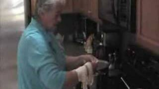 Big Grammy Making Chicken & Dumplings