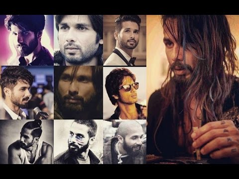 Get Shahid Kapoor S Hairstyle Check Out His Hair Raising Styles Fashion Scrapbook Youtube