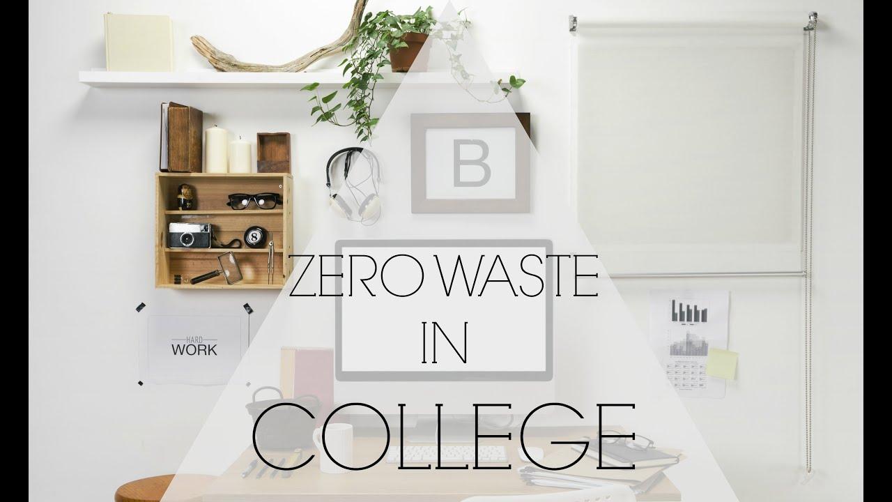 Zero Waste College Dorm Tips