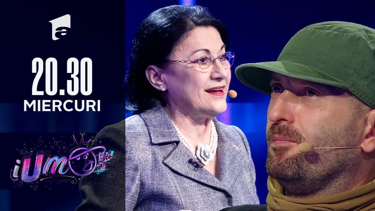 Ecaterina Andronescu a venit la iUmor cu un moment inedit. Cheloo: Facem o bombă! | iUmor 2021