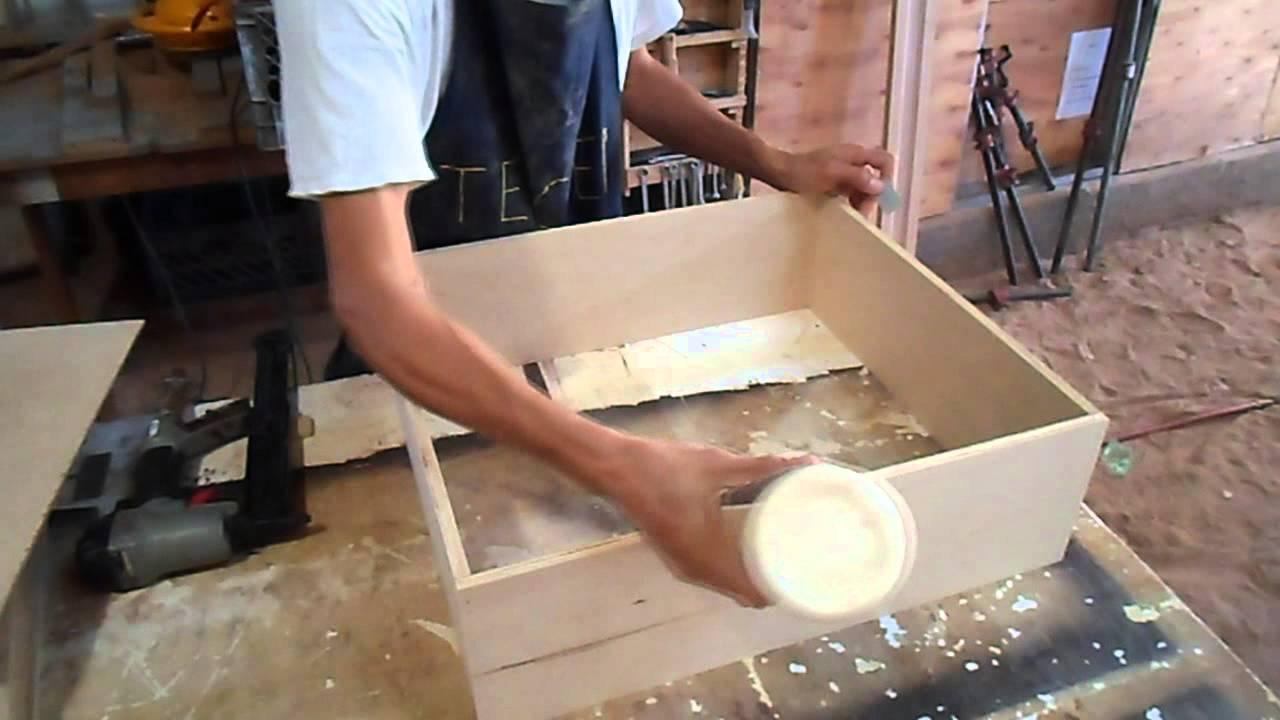 Carpintera  Como hacer cajones Pt 3  YouTube