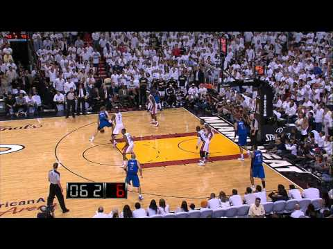 Dirk Nowitzki Hits the Game Winner