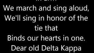 Phi Marching Song DKE Lyrics