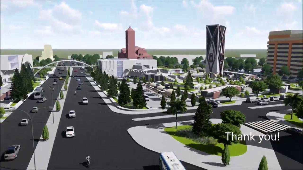 One central square transit hub chennai , Architecture Design Thesis  2018,IIT KHARAGPUR