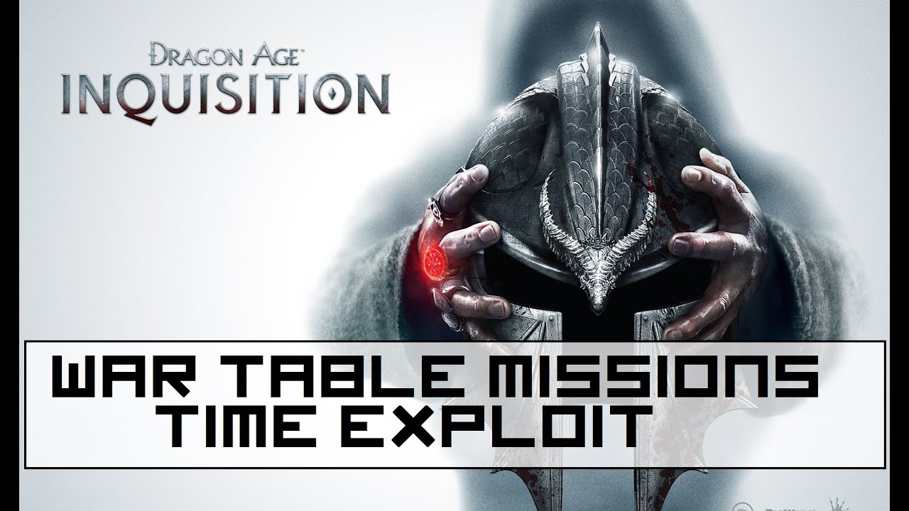 Dragon Age Inquisition How To Complete War Table Missions Quickly Time Exploit