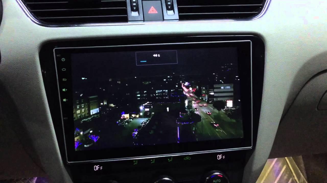 Skoda octavia android usb dvd navigasyon oem multimedya ...