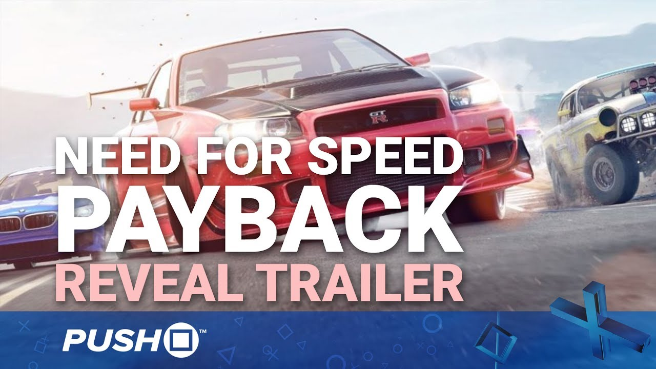 need for speed payback ps4 reveal trailer playstation 4. Black Bedroom Furniture Sets. Home Design Ideas