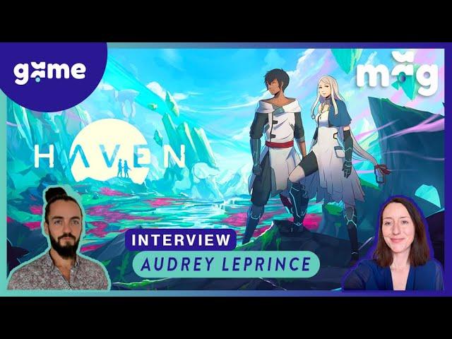 Haven - Interview et Gameplay avec Audrey Leprince  - Gamescom 2019