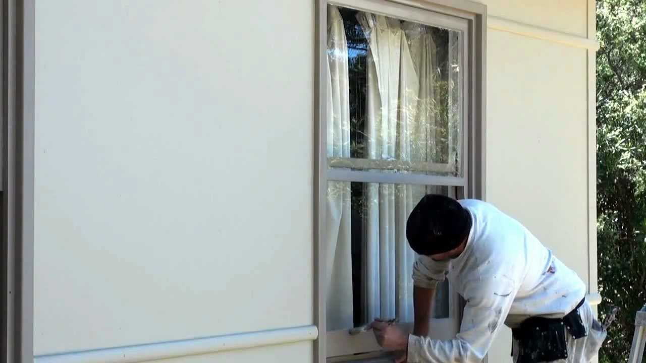 How To Paint A Window How To Paint A Sash Window Using