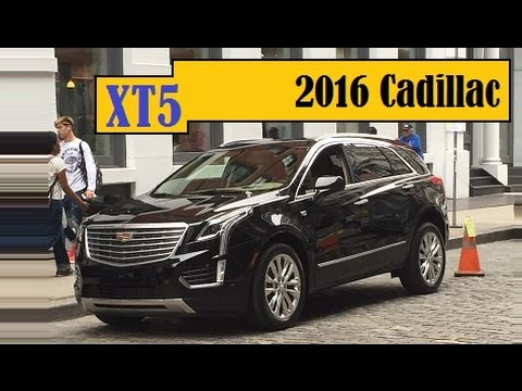 2016 Cadillac Xt5 This Srx Successor Spotted Completely Undisguised On The Streets Of New York City You