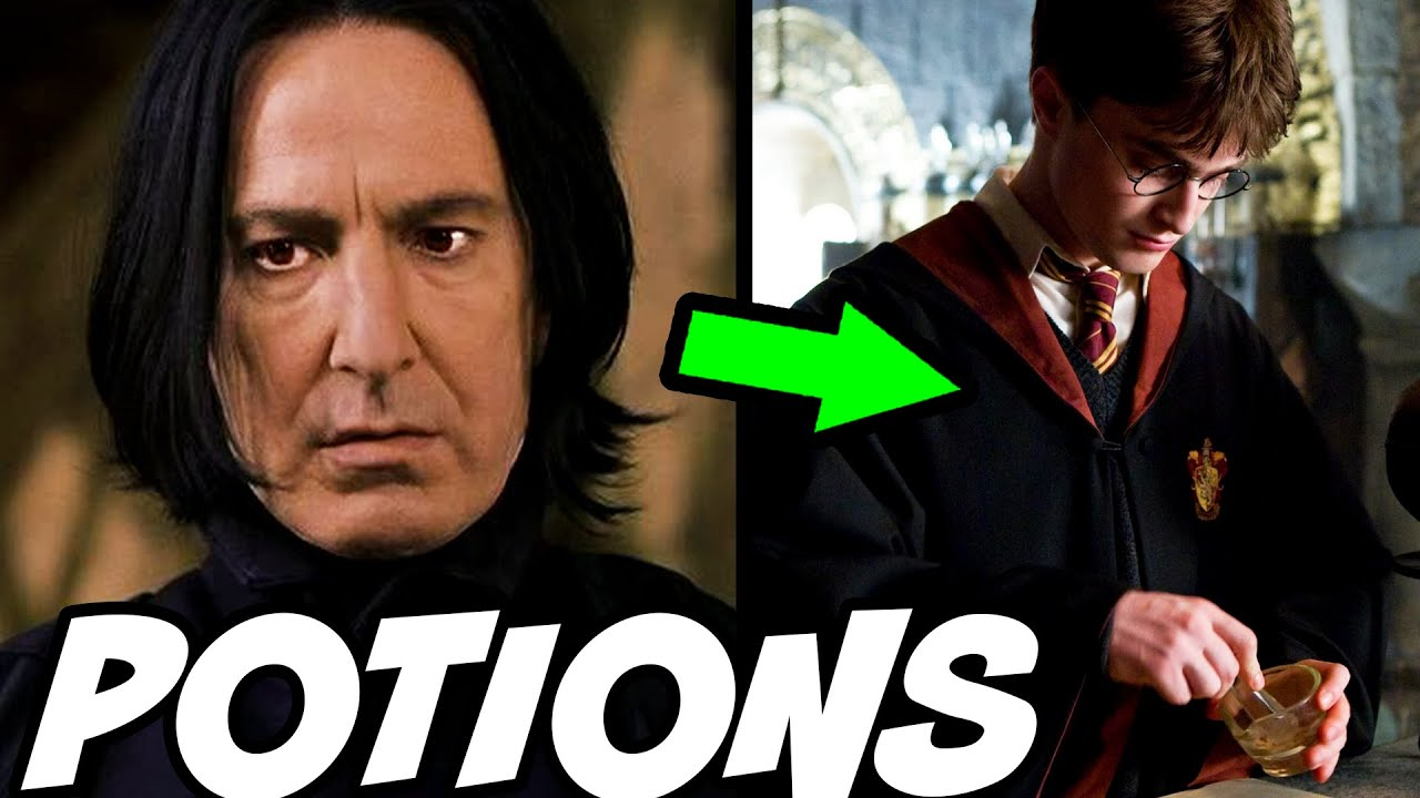 Was Harry Secretly BETTER at Potions than Snape? - Harry Potter Explained
