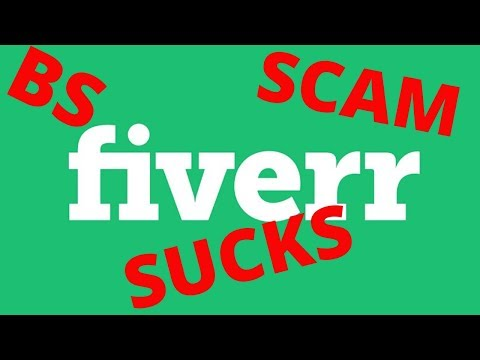 fiverr review by a seller