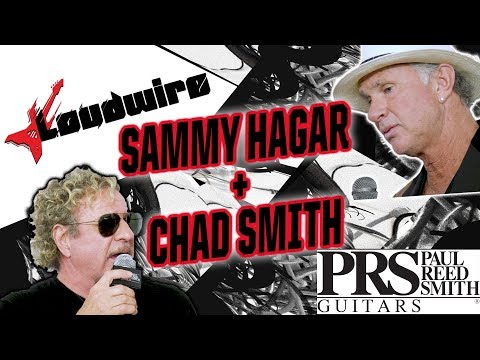 Sammy Hagar + Chad Smith are the 'Step Brothers' of Rock