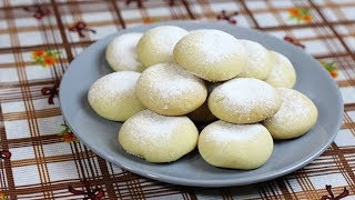 sadece 3 malzeme ile katı yağ kullanmadan un kurabiye tarifi
