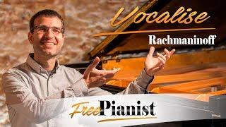 Vocalise - KARAOKE / PIANO ACCOMPANIMENT - C minor - High voices - Rachmaninov