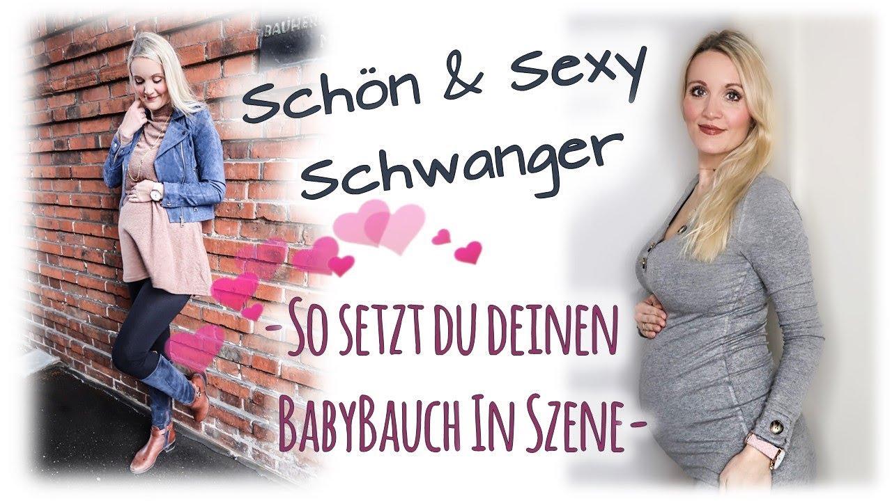 DIE SCHÖNSTEN LOOKS FÜR SCHWANGERE | Live Try on Haul für