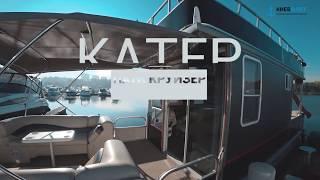 Аренда катера Пати Круизер в Киеве для прогулки по Днепру (обзор катера)