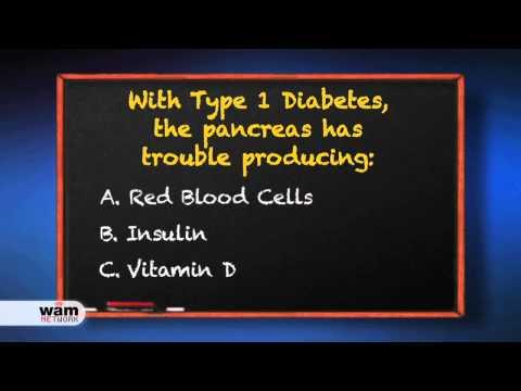 Type 1 Diabetes Quiz Voiced