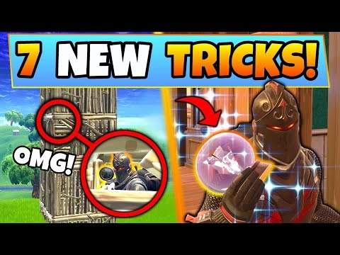 Fortnite Tips: 7 EPIC NEW TRICKS You SHOULD KNOW in Battle Royale (Feat. Update Gameplay)