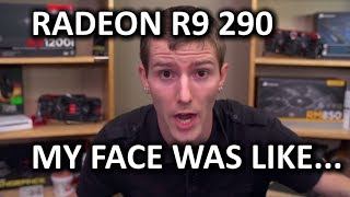 amd radeon r9 290 unboxing review