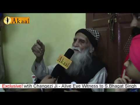 An 106 years old Alive Eyewitness & shelter provider to Bhagat Singh