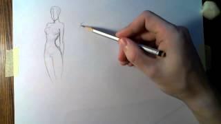 Как быстрее научиться рисовать. Скетчи.