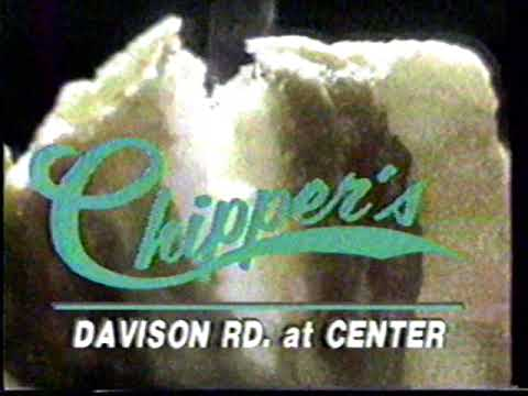 1985 Chipper's Fish And Chips Flint Local TV Commercial