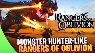 Rangers of Oblivion ✦ Un nouveau Monster Hunter-like sur Android / Avis & Gameplay
