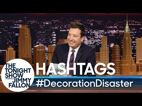Hashtags: #DecorationDisaster
