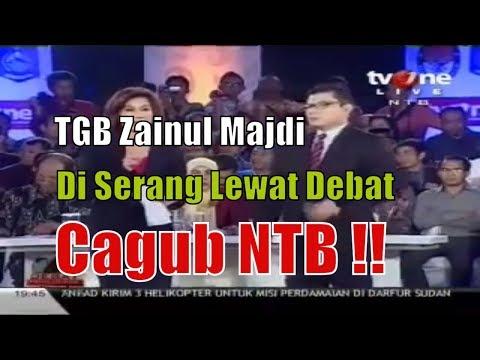 TGB Zainul Majdi Di Serang Lewat Debat Cagub NTB !!