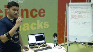 Mind/EMG-controlled prosthetic arm - Science Hack Day