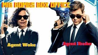 Men In Black International BOMBS at Box office!  Get Woke Go Broke