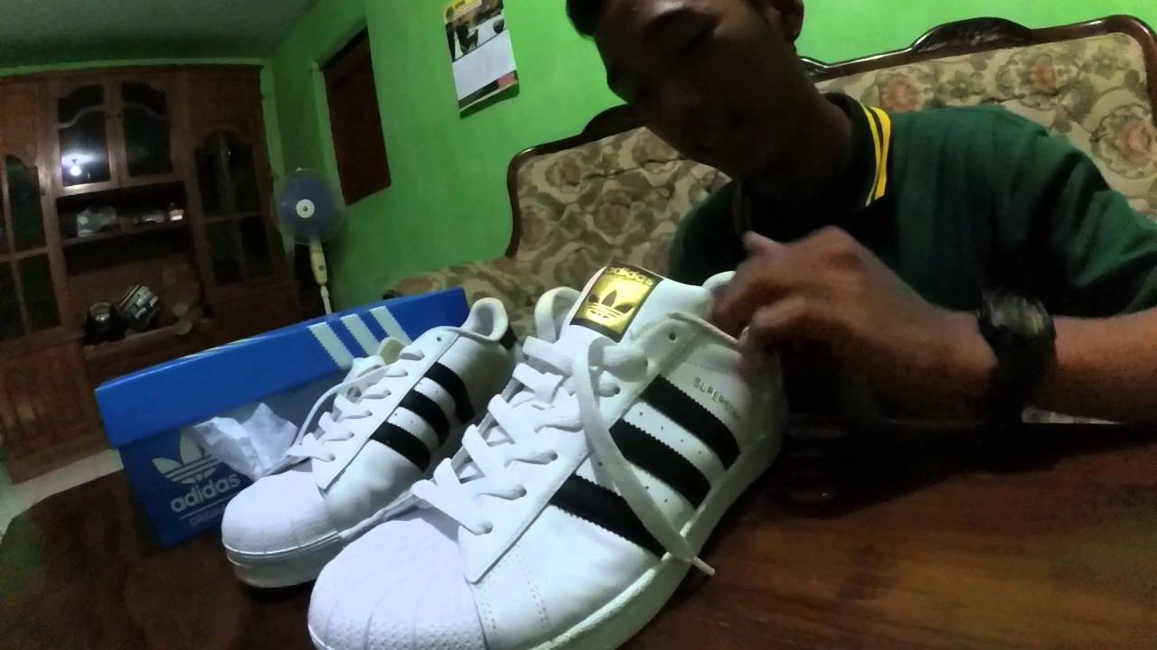 UNBOXING ADIDAS SUPERSTAR (ORIGINAL) - YouTube 1cf50847ff