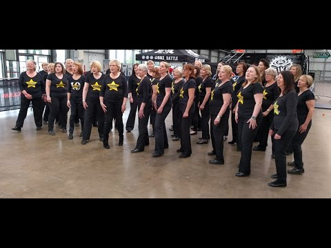 Nottinghamshire County Show: Rock Choir Performance