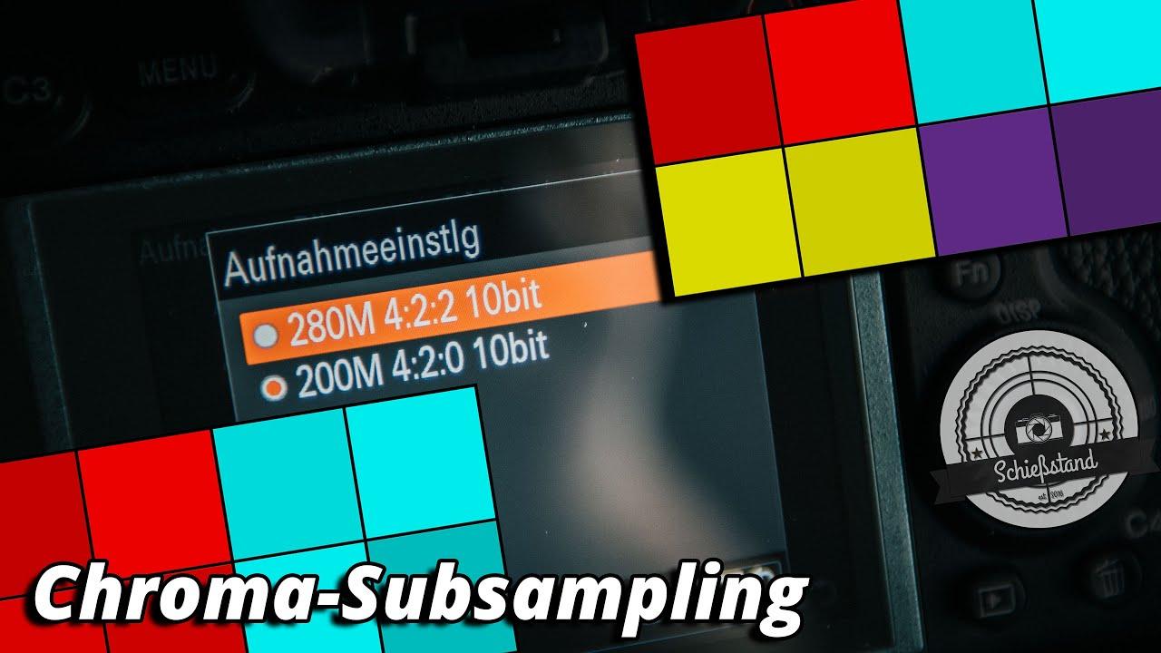 Wieso du 4:2:2 Chroma-Subsampling willst und weshalb das nicht nur für Videos wichtig ist.