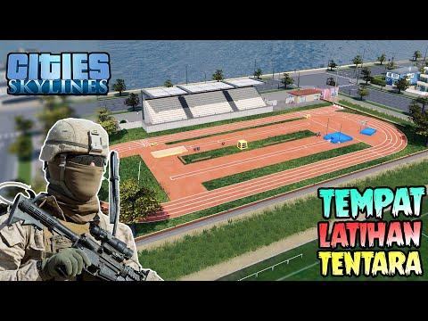 Latihan Tembak Untuk Para TENTARA !! 😱 - Cities: Skylines |
