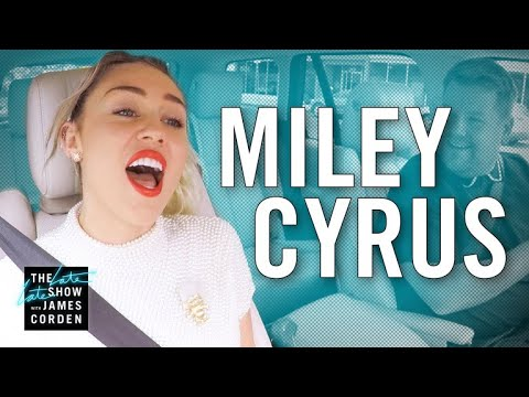 Miley Cyrus Carpool Karaoke
